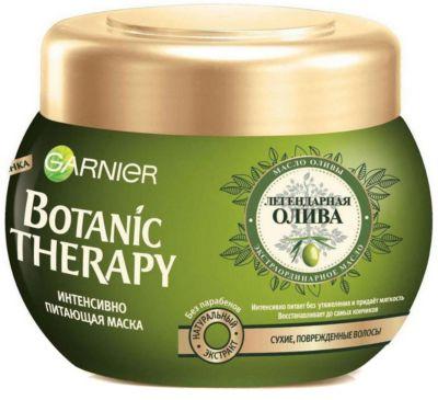 Garnier Маска для волос Garnier Botanic Therapy Легендарная олива, 300 мл chi luxury black seed oil curl defining cream gel
