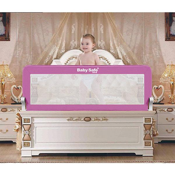 Baby Safe Барьер для кроватки Baby Safe, 120х42 baby safe барьер для кроватки baby safe 180х66 см бежевый