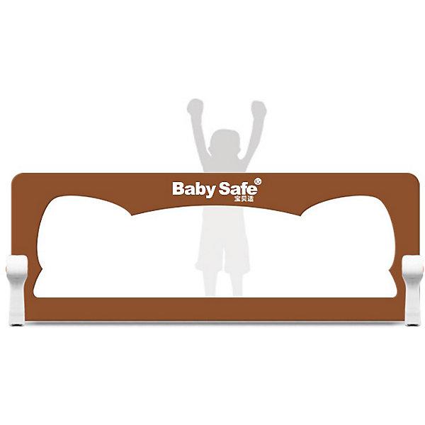 Baby Safe Барьер для кроватки Baby Safe Ушки, 120х42 baby safe барьер для кроватки baby safe 180х66 см бежевый