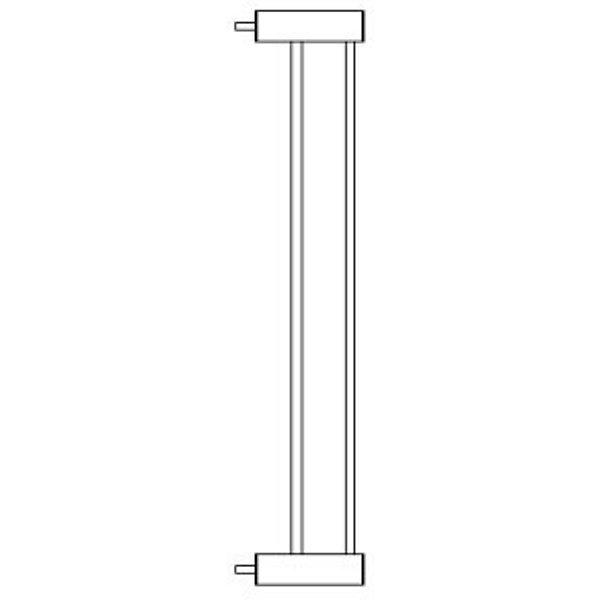 Nordlinger Расширитель для барьера-калитки Nordlinger Pro Sofia, 8 см