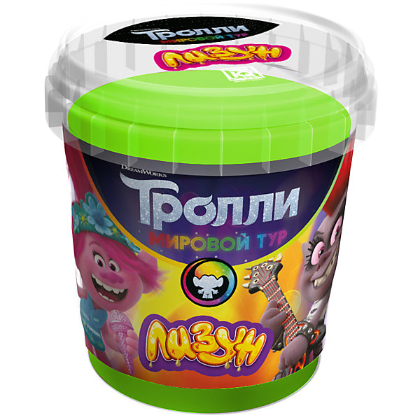 Купить Лизун Master IQ2 Тролли, 150 гр, Россия, зеленый, Унисекс