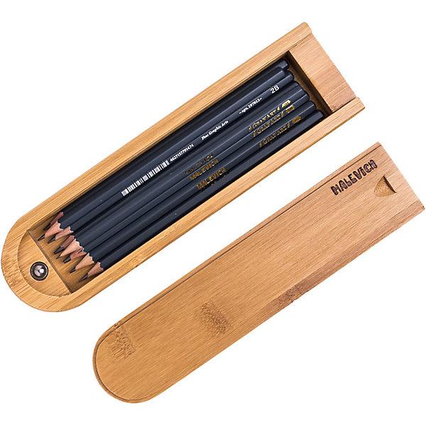 Фото - Малевичъ Набор чернографитных карандашей Малевичъ, 8 шт набор карандашей малевичъ grafart 8шт bordo 830216