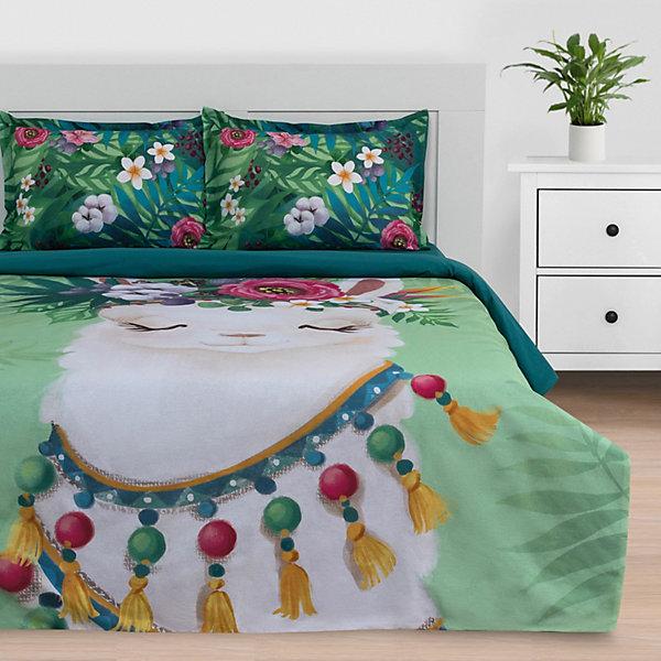 цена на Этель Комплект постельного белья Этель Alpaca dream, евро