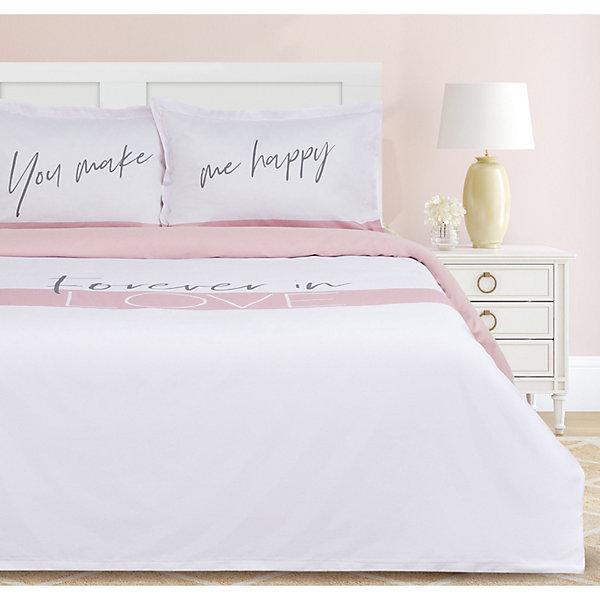 Этель Комплект постельного белья Этель Make me happy, 2-спальное этель комплект постельного белья этель млечный путь 1 5 спальное