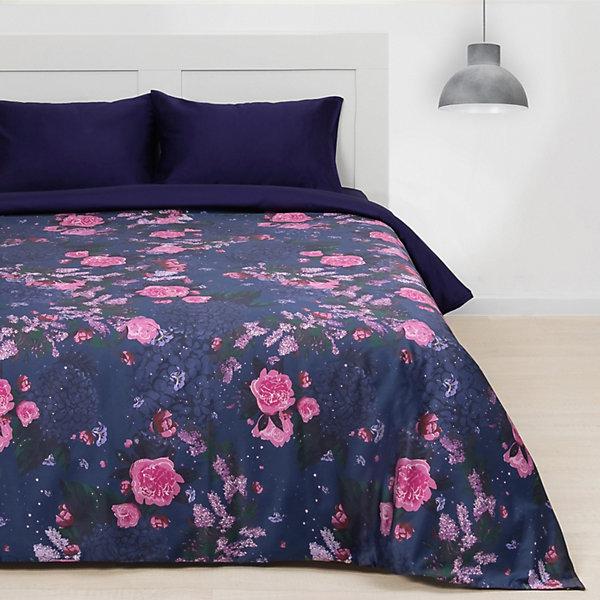 Этель Комплект постельного белья Этель Пионы, 1,5-спальное этель комплект постельного белья этель млечный путь 1 5 спальное
