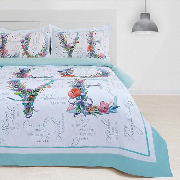 цена Этель Комплект постельного белья Этель Love, евро онлайн в 2017 году