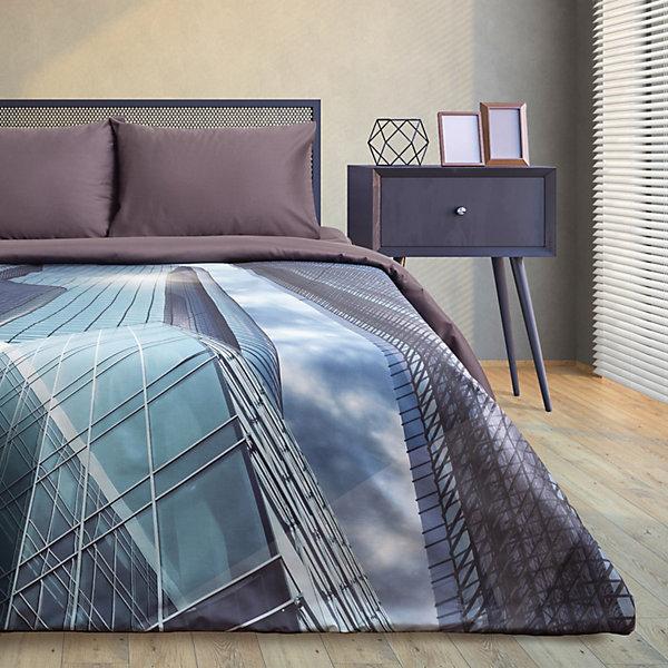 Этель Комплект постельного белья Этель Big city, евро комплект постельного белья самойловский текстиль евро хлопок наволочки 50х70