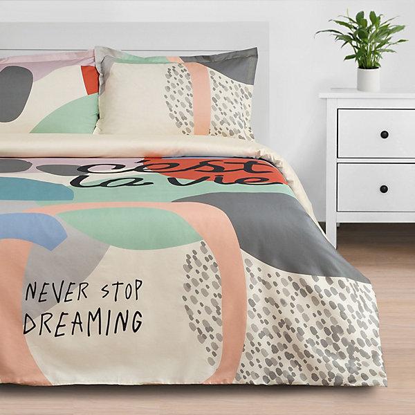 Этель Комплект постельного белья Этель Се ля ви, 2-спальное этель комплект постельного белья этель млечный путь 1 5 спальное