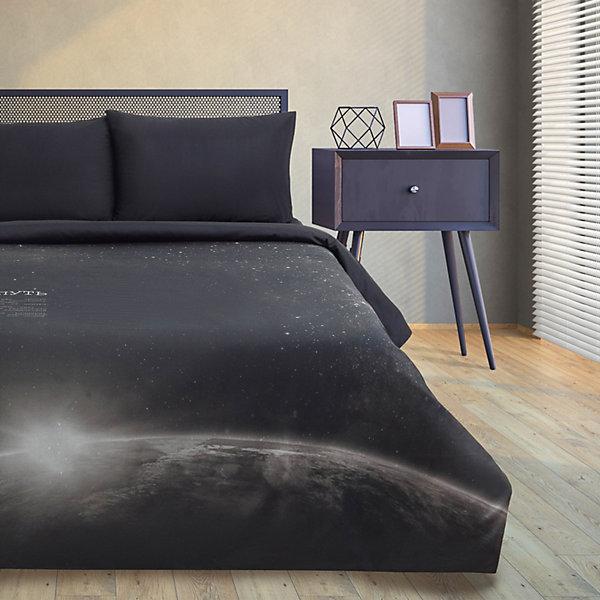 Этель Комплект постельного белья Этель Млечный путь, 1,5-спальное комплект постельного белья двуспальный tango twill 57 50