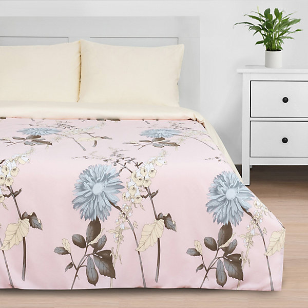 Этель Комплект постельного белья Этель Цветочный этюд, 2-спальное комплект постельного белья двуспальный tango twill 57 50