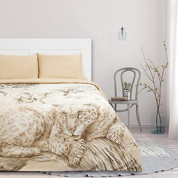 Этель Комплект постельного белья Этель Safari, евро комплект постельного белья самойловский текстиль евро хлопок наволочки 50х70