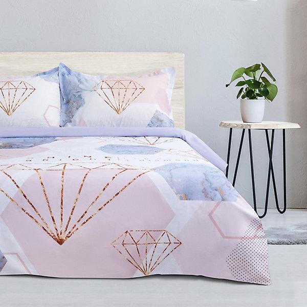 цена Этель Комплект постельного белья Этель Shine bright, евро онлайн в 2017 году