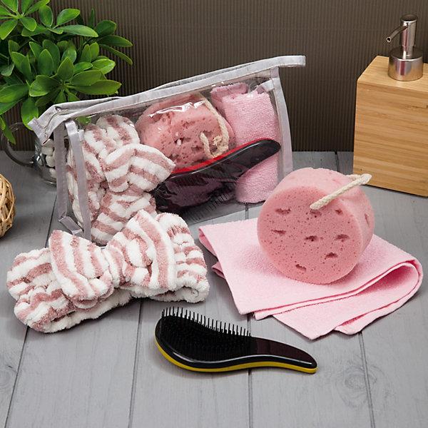 Экономь и Я Набор для бани и сауны Экономь и Я в косметичке, 4 предмета ароматизатор для бани и сауны антистресс 100 мл
