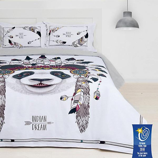 цена - Комплект постельного белья Этель Indian dream, евро онлайн в 2017 году
