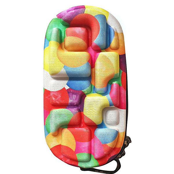 Купить Пенал MadPax LedLox Pencil Case Premium Don't burst, 23х10х5 см, США, разноцветный, Унисекс