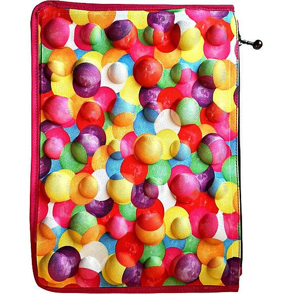 Купить Чехол-пенал-папка MadPax Packfolio-PopBubble Premium, 35х25х1 см, США, разноцветный, Унисекс