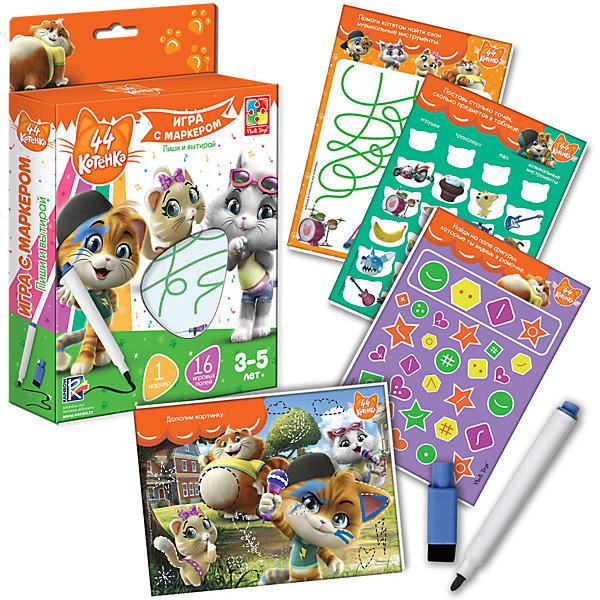 Купить Игра с маркером 44 Котенка, Vladi Toys, Украина, Унисекс