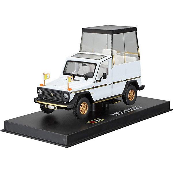 цена на Bburago Машина Bburago Mercedes-Benz 230GE papamobile, 1:43