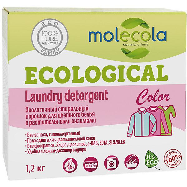 Стиральный порошок Molecola для  цветного белья, 1,2 кг