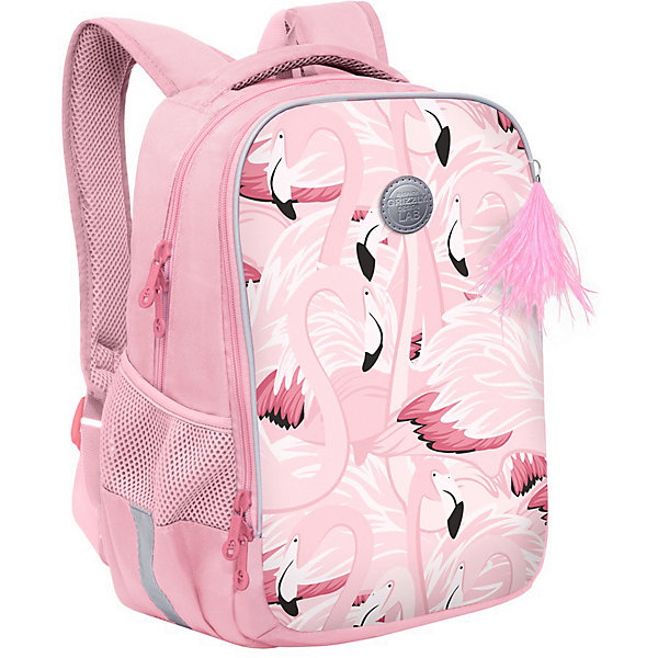 Купить Рюкзак школьный Grizzly Фламинго, Китай, Женский