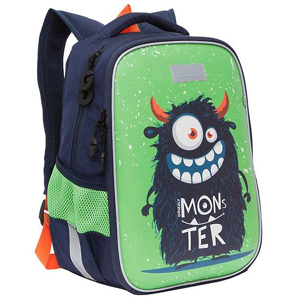 Купить Рюкзак школьный Grizzly MonsteR, Китай, Мужской