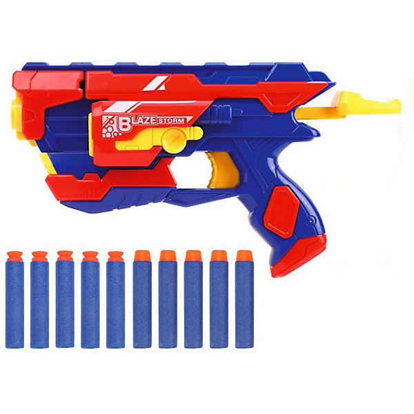 Наша Игрушка Бластер Наша Игрушка с мягкими пулями бластер наша игрушка fj833