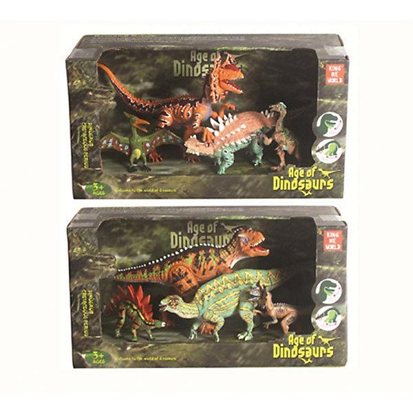 цена на Наша Игрушка Игровой набор Наша Игрушка Динозавры