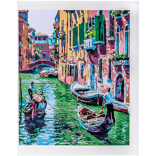 Купить Набор для раскрашивания по номерам Цветной Венеция , ТМ Цветной, Китай, разноцветный, Унисекс