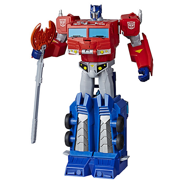 Купить Трансформеры Transformers Кибервселенная Класс Алтимейт Оптимус Прайм, 30 см, Hasbro, Вьетнам, разноцветный, Мужской