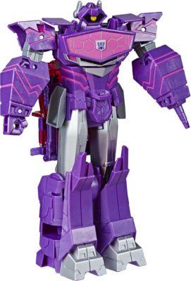 роботы transformers hasbro трансформеры 5 movie уан степ Hasbro Transformers Трансформеры Transformers Кибервселенная Класс Алтимейт Шоквейв, 30 см