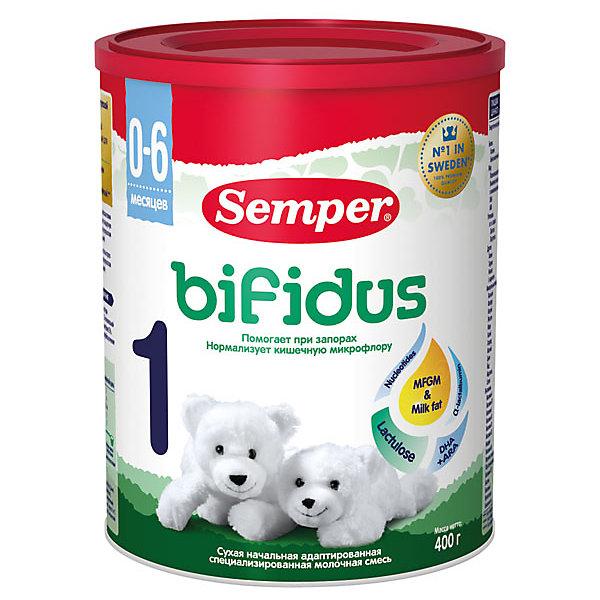Semper Молочная смесь Semper bifidus 1, с 0 мес, 400 г