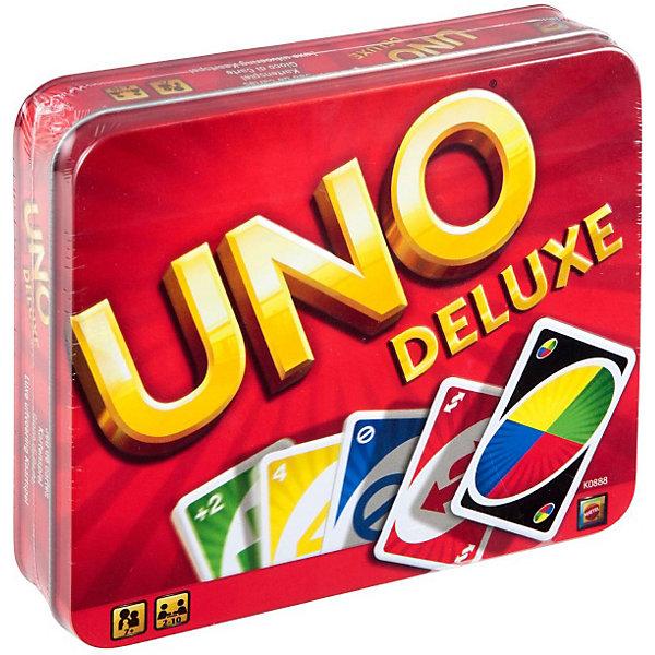 Mattel Карточная игра Games «Уно», версия люкс
