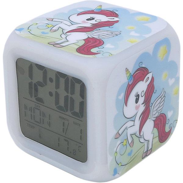 Часы будильник Единорог с подсветкой №15
