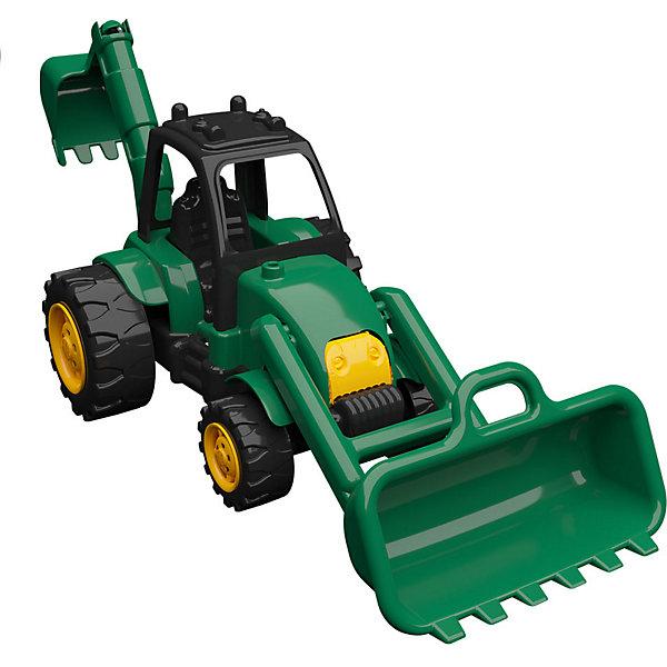 Terides Машинка Terides Трактор с дополнительным ковшом, 36 см