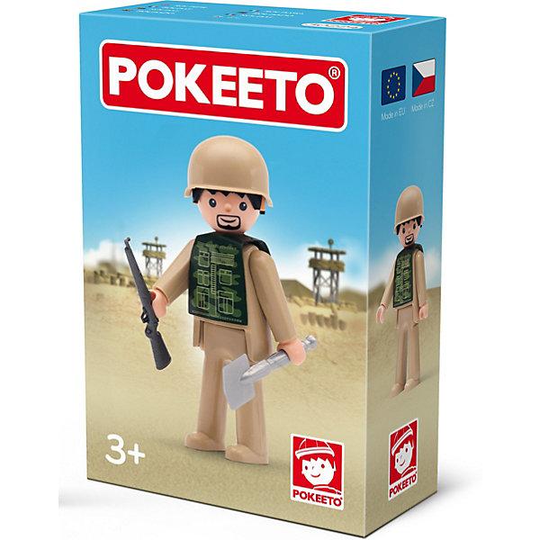 Efko Игровая фигурка Efko Солдат, 8 см, с аксессуарами efko игровая фигурка efko пожарный 8 см с аксессуарами