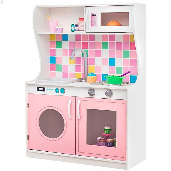 Купить Игрушечная кухня Алвеоло Роуз Мини , PAREMO, Россия, розовый/белый, Женский