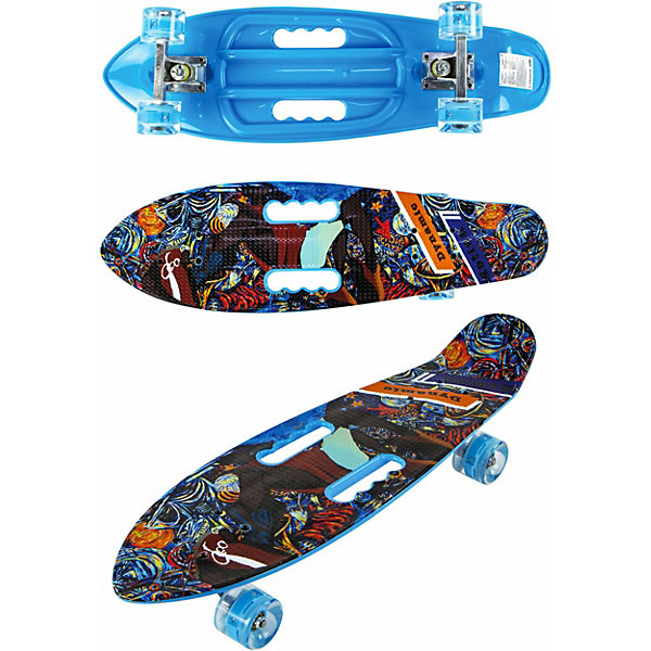 Купить Скейт Navigator, Китай, schwarz/blau, Унисекс