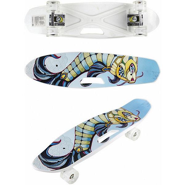 Купить Скейт Navigator, Китай, голубой, Унисекс