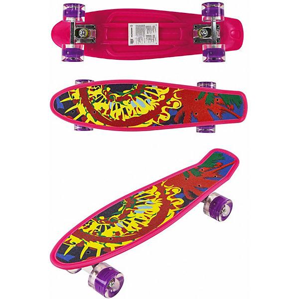 Купить Скейт Navigator, Китай, красный, Унисекс