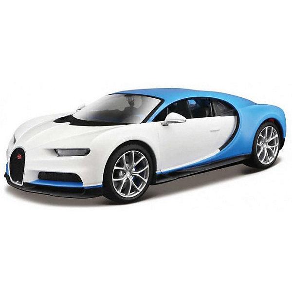 Купить Машинка Maisto Bugatti Chiron Design Exotics, 1:24, Китай, разноцветный, Мужской