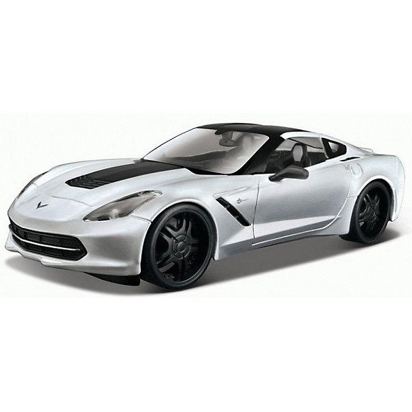 Купить Машинка Maisto Corvette Stingray Design Modern Muscle, 1:24, Китай, разноцветный, Мужской