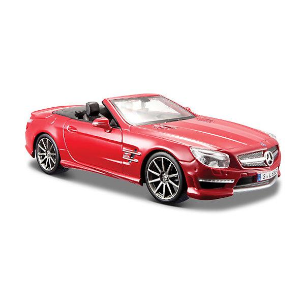 цена на Maisto Машинка Maisto Mercedes Benz SL AMG 63 convertible 2012, 1:24