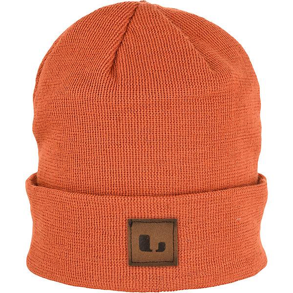 Купить Шапка Lindberg, Китай, оранжевый, 52-56, 56-60, Унисекс
