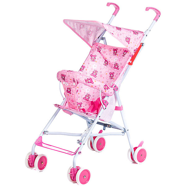Baby Hit Коляска-трость Baby Hit Flip, розовая