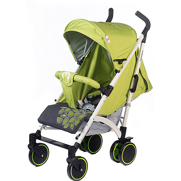 Baby Hit Коляска-трость Baby Hit Rainbow LT, зелёная с серым