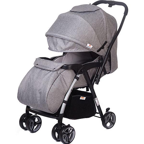 Прогулочная коляска Baby Hit Floret, серая
