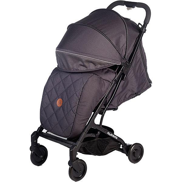 Baby Hit Прогулочная коляска Acarento Provetto, тёмно-серая прогулочная коляска acarento provetto серый