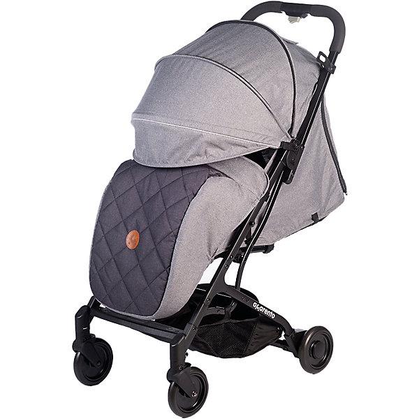 Прогулочная коляска Acarento Provetto, серая Baby Hit серого цвета