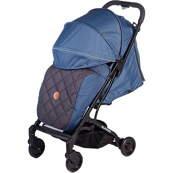 Baby Hit Прогулочная коляска Acarento Provetto, джинс с серым прогулочная коляска acarento provetto серый