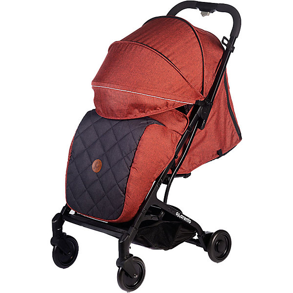 Baby Hit Прогулочная коляска Acarento Provetto, красная с серым прогулочная коляска acarento provetto серый
